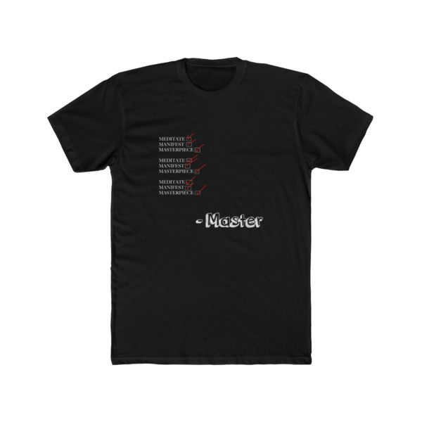 Checklist for Masters (T Shirt) 1