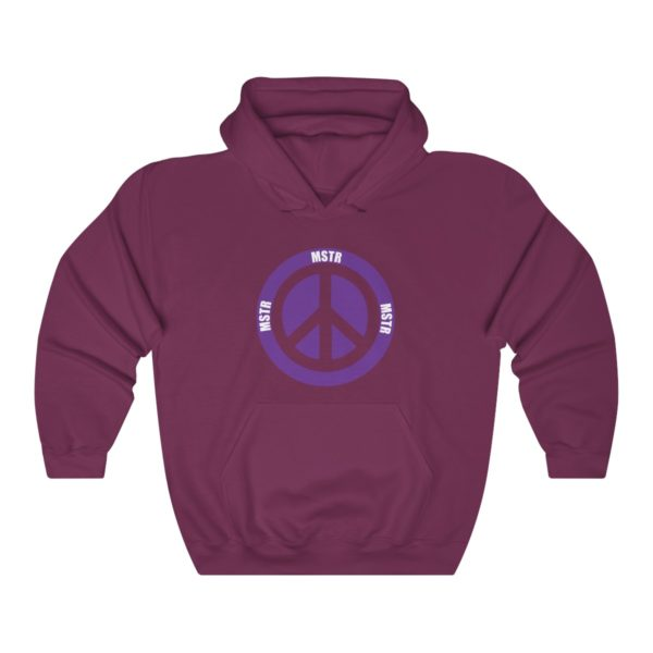 """MSTR Ya Peace"" Hooded Sweatshirt 7"