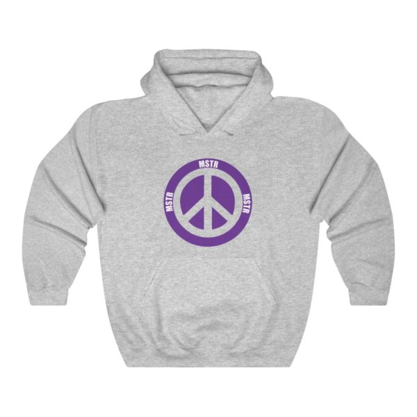 """MSTR Ya Peace"" Hooded Sweatshirt 2"