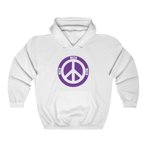 """MSTR Ya Peace"" Hooded Sweatshirt 3"
