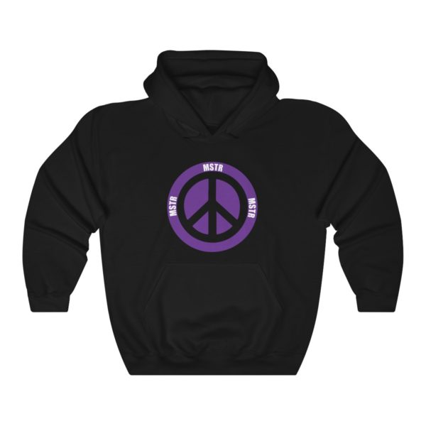 """MSTR Ya Peace"" Hooded Sweatshirt 1"