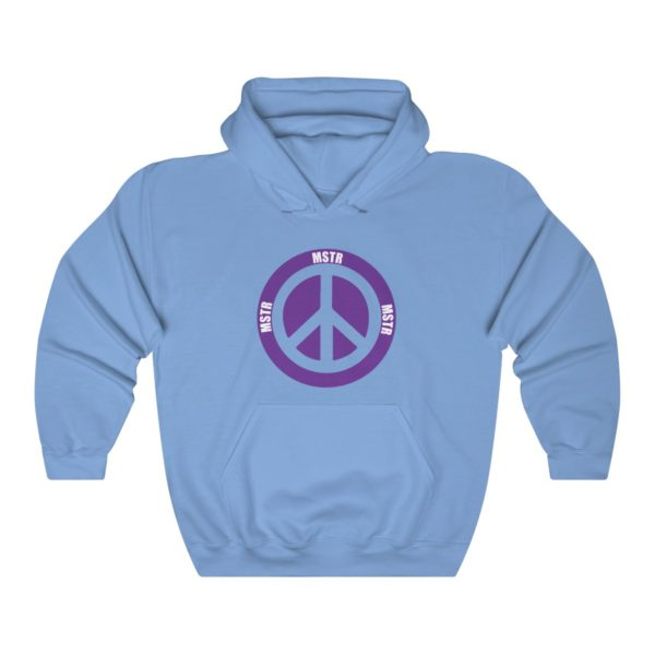 """MSTR Ya Peace"" Hooded Sweatshirt 6"