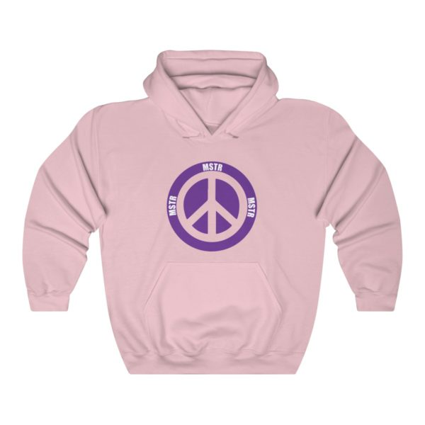 """MSTR Ya Peace"" Hooded Sweatshirt 8"