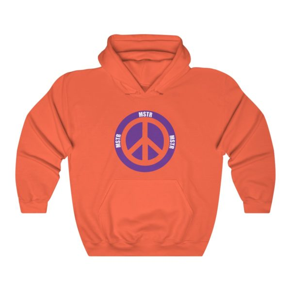"""MSTR Ya Peace"" Hooded Sweatshirt 4"