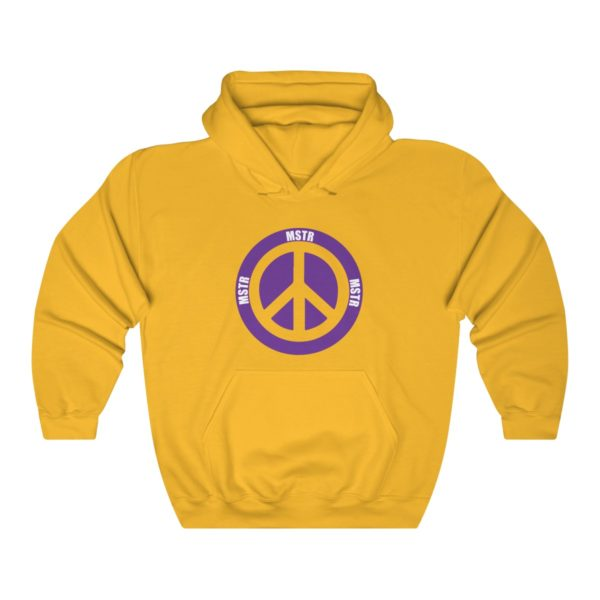 """MSTR Ya Peace"" Hooded Sweatshirt 5"