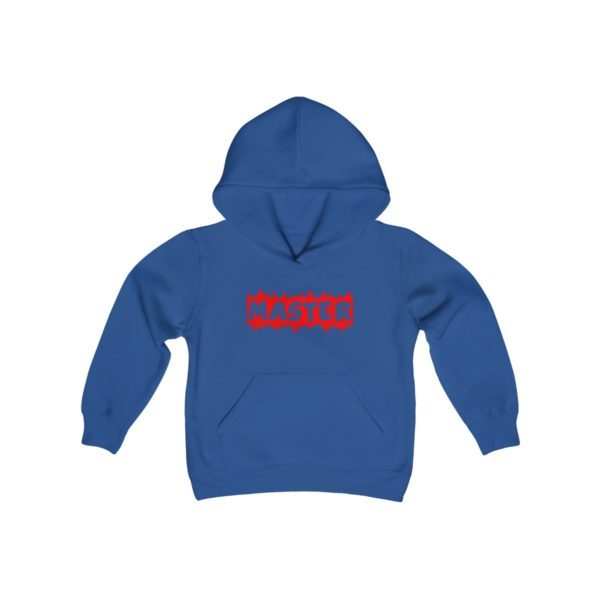 MASTER (Youth Hooded Sweatshirt) 4