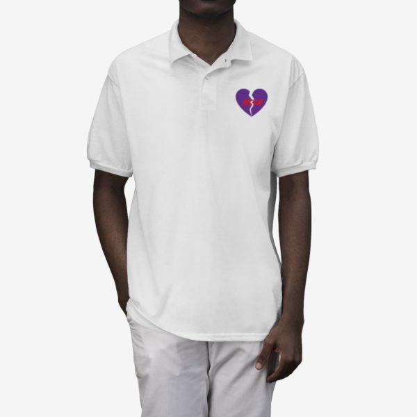 Polo Shirt with The Master's Heart 3