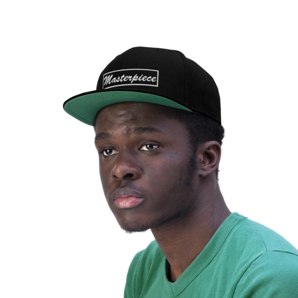 Snapback hat w/ Masterpiece Logo 6