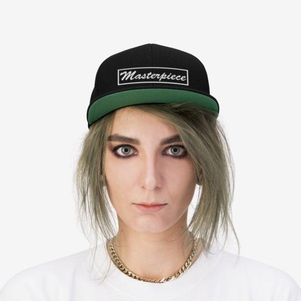 Snapback hat w/ Masterpiece Logo 7