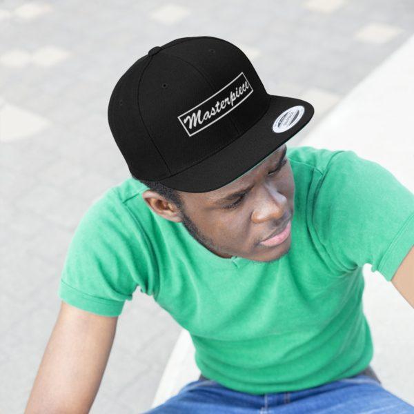 Snapback hat w/ Masterpiece Logo 8