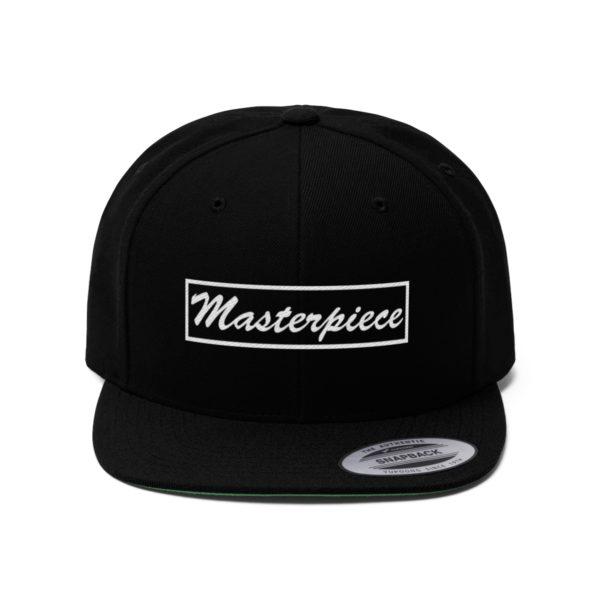 Snapback hat w/ Masterpiece Logo 5