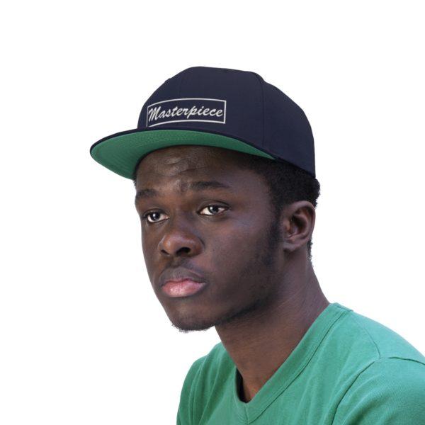 Snapback hat w/ Masterpiece Logo 18