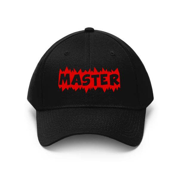 A hat made for a MASTER 8