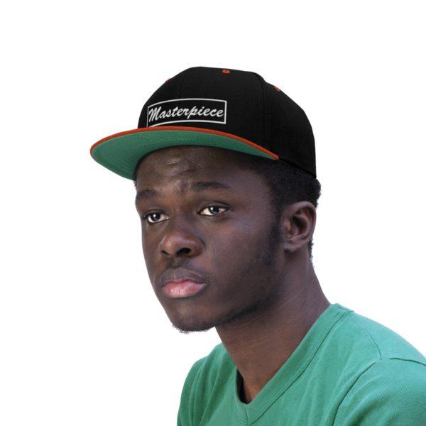 Snapback hat w/ Masterpiece Logo 14