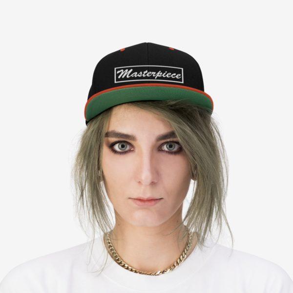 Snapback hat w/ Masterpiece Logo 15