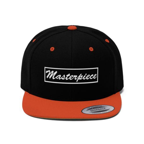 Snapback hat w/ Masterpiece Logo 13