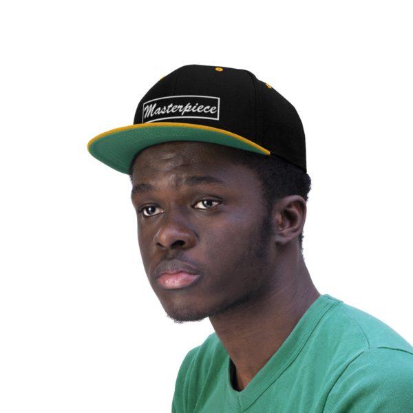 Snapback hat w/ Masterpiece Logo 10