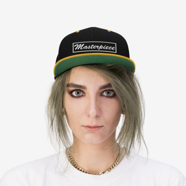 Snapback hat w/ Masterpiece Logo 11