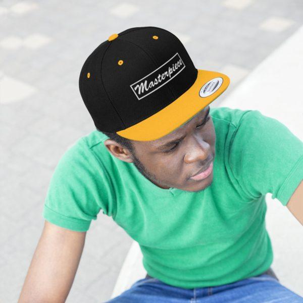 Snapback hat w/ Masterpiece Logo 12