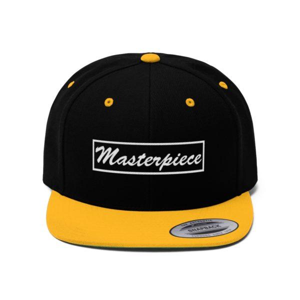 Snapback hat w/ Masterpiece Logo 9
