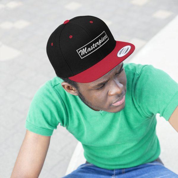 Snapback hat w/ Masterpiece Logo 4
