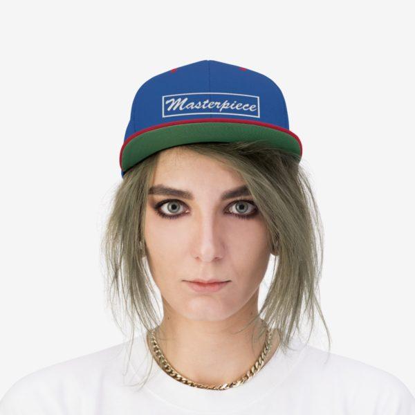 Snapback hat w/ Masterpiece Logo 23
