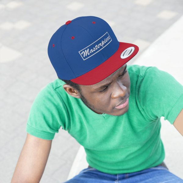 Snapback hat w/ Masterpiece Logo 24