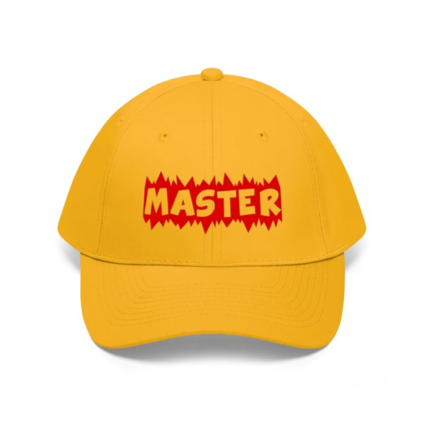 A hat made for a MASTER 12