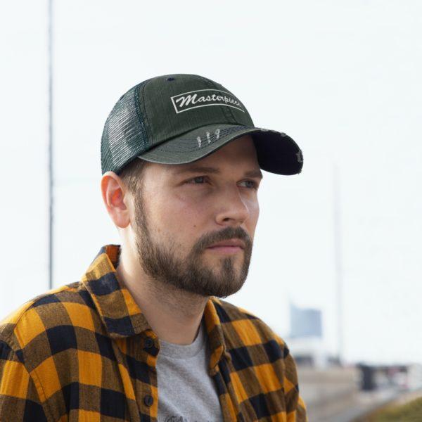 Trucker Hat W/ Masterpiece Logo 12