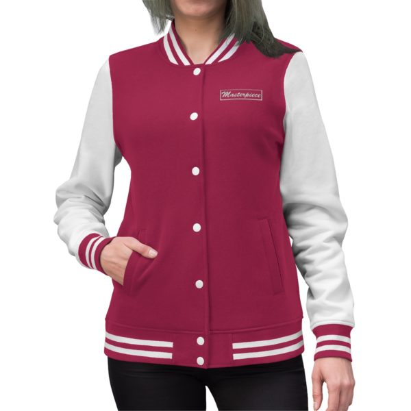 Masterpiece Varsity Jacket (Women's) 4