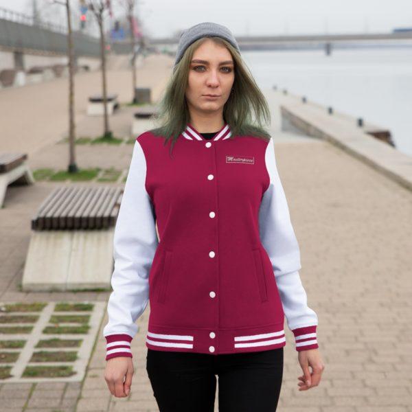 Masterpiece Varsity Jacket (Women's) 6
