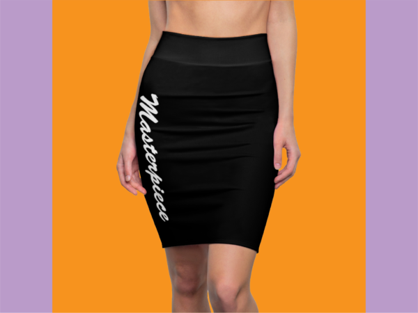 Masterpiece Skirt (Black) 1