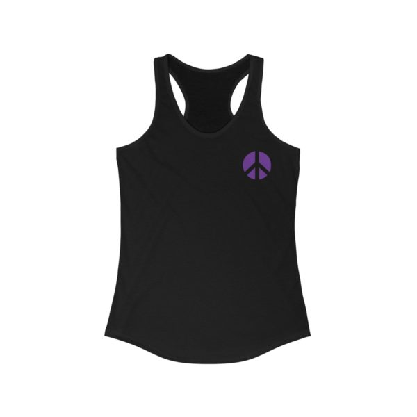 """Master Some Peace"" Women's Racerback Tank 2"