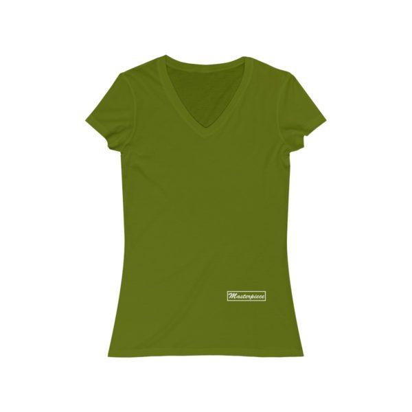 Masterpiece Jersey Short Sleeve V-Neck Tee 3