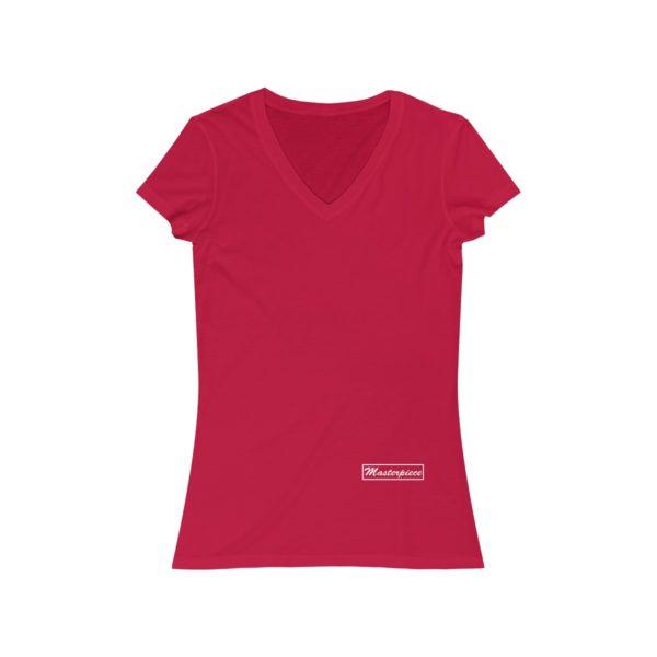 Masterpiece Jersey Short Sleeve V-Neck Tee 1