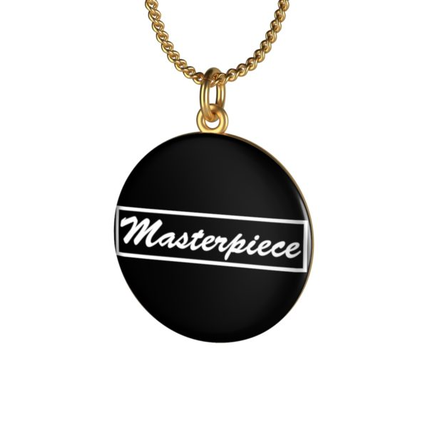 Masterpiece Single Loop Necklace 10