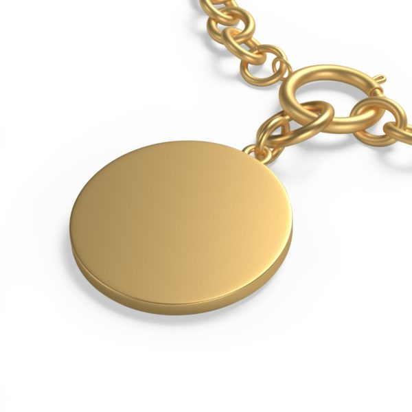 Chunky Chain MSTR Peace Bracelet 6