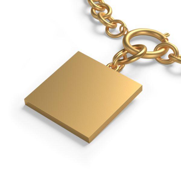 Chunky Chain MSTR Peace Bracelet 3