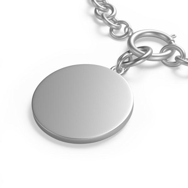 Chunky Chain MSTR Peace Bracelet 9