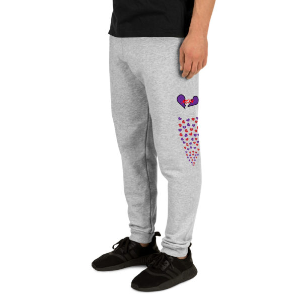 "Unisex Joggers W/ the ""Master's Heart"" 1"