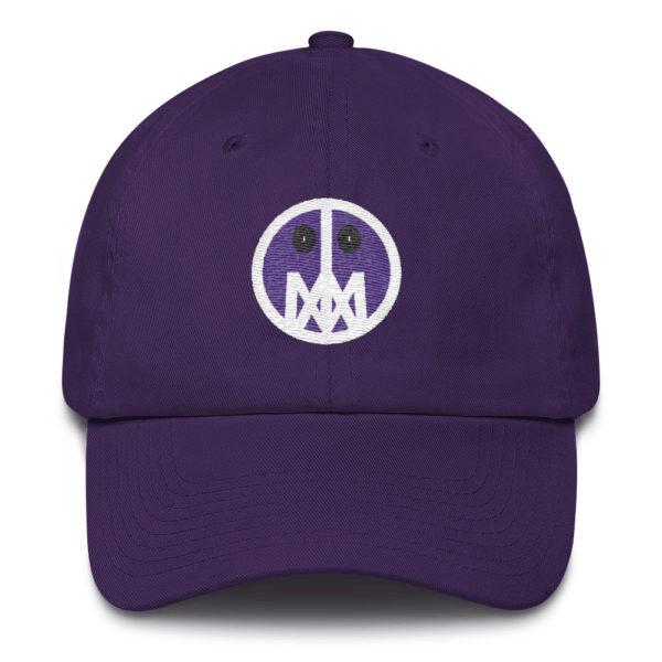 Purple MSTR Face Cap 3