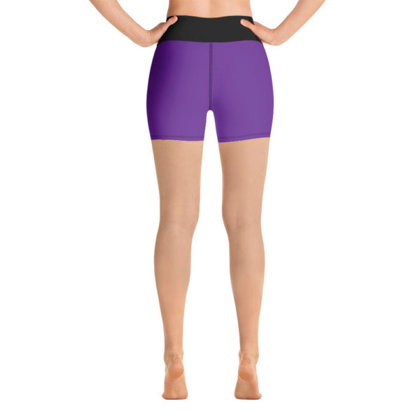 Purple Masterpiece Yoga Shorts 4