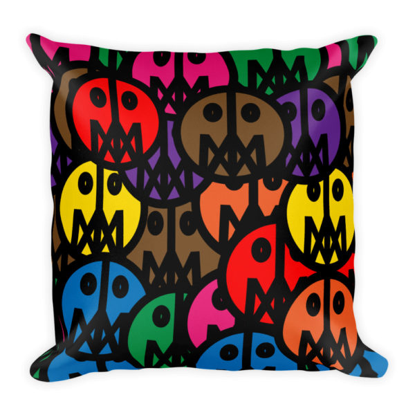 MSTR FACES on Pillow 3
