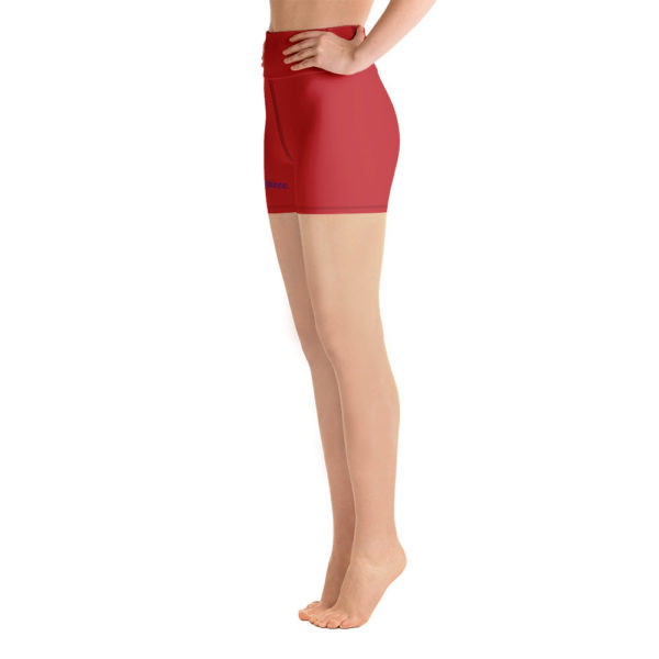 Masterpiece Yoga Shorts (Red) 2