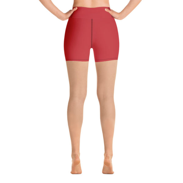 Masterpiece Yoga Shorts (Red) 4
