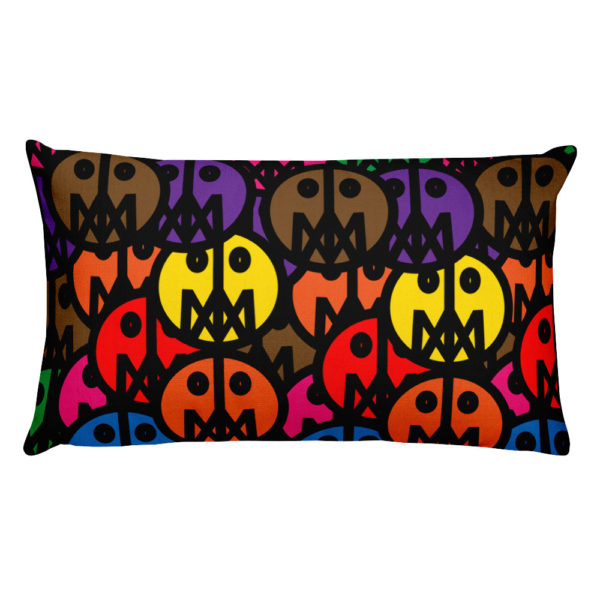 MSTR FACES on Pillow 2