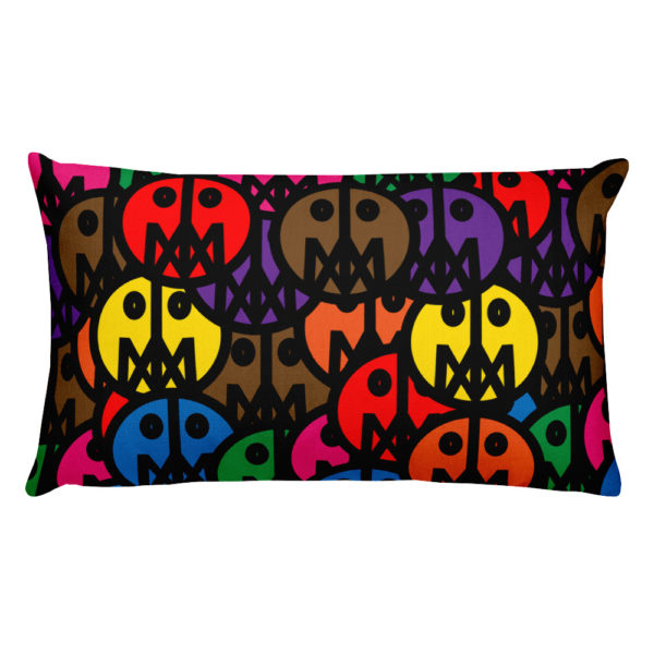 MSTR FACES on Pillow 1
