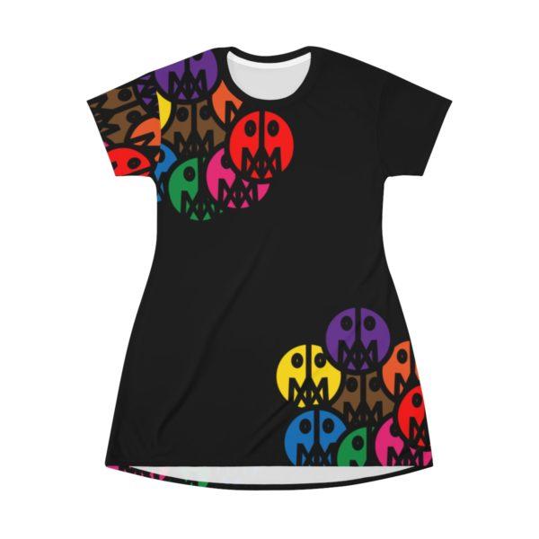 MSTR Face T-shirt Dress 2