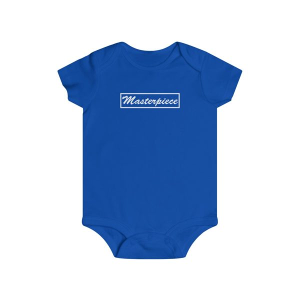 Masterpiece Orginal logo on Infant Rip Snap Tee 5
