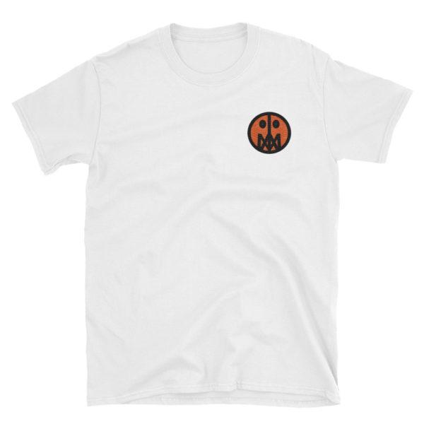 Stitched MSTR Face Tee (Orange) 2
